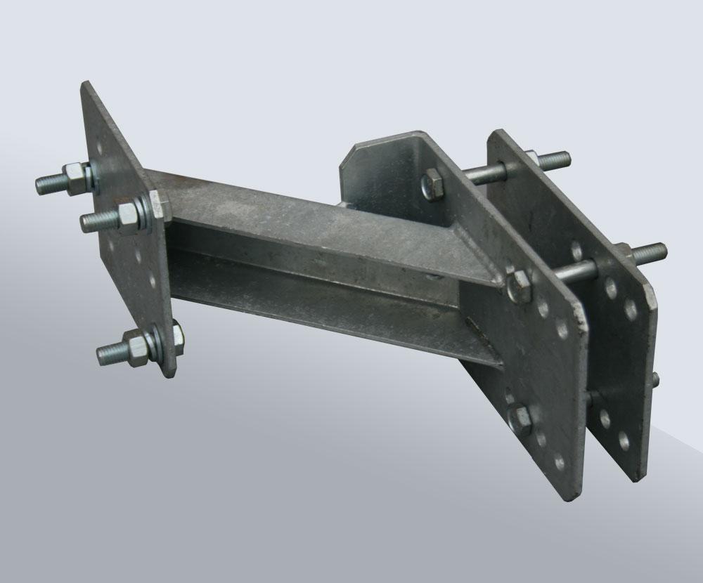 Кронштейн для запасного колеса на лодочный прицеп